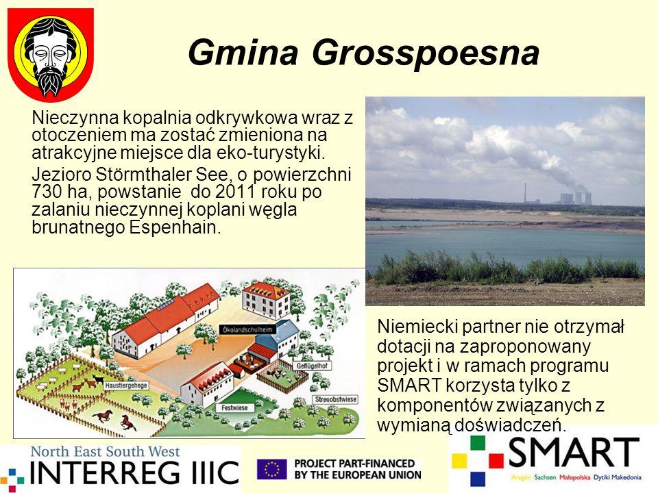 Gmina Grosspoesna Nieczynna kopalnia odkrywkowa wraz z otoczeniem ma zostać zmieniona na atrakcyjne miejsce dla eko-turystyki. Jezioro Störmthaler See