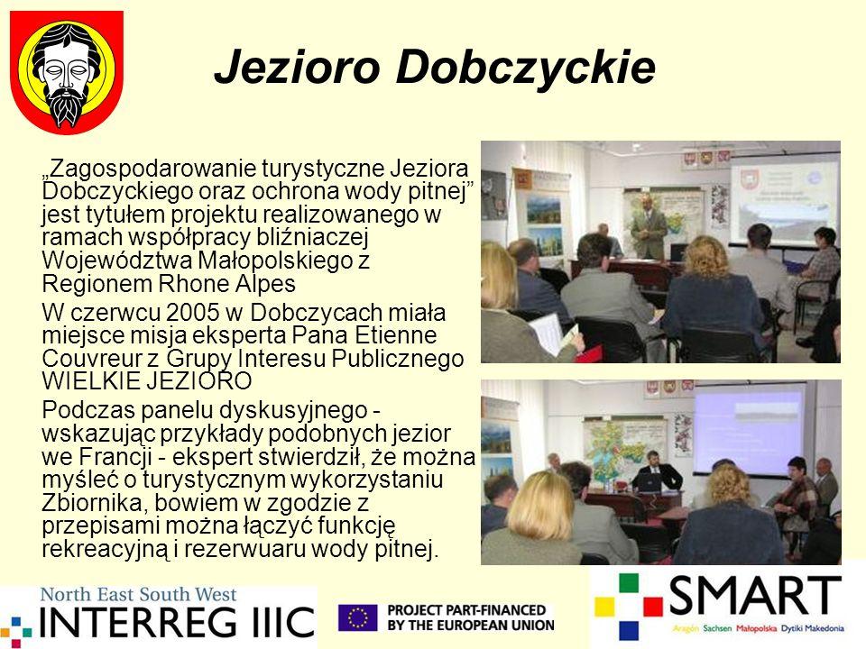 Jezioro Dobczyckie Zagospodarowanie turystyczne Jeziora Dobczyckiego oraz ochrona wody pitnej jest tytułem projektu realizowanego w ramach współpracy