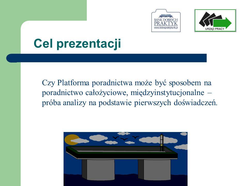 Rozumienie pojęcia Platformy Płaszczyzna, która stanowi obszar wspólnego działania, Płaska powierzchnia stanowiąca element większej konstrukcji…, cyt.
