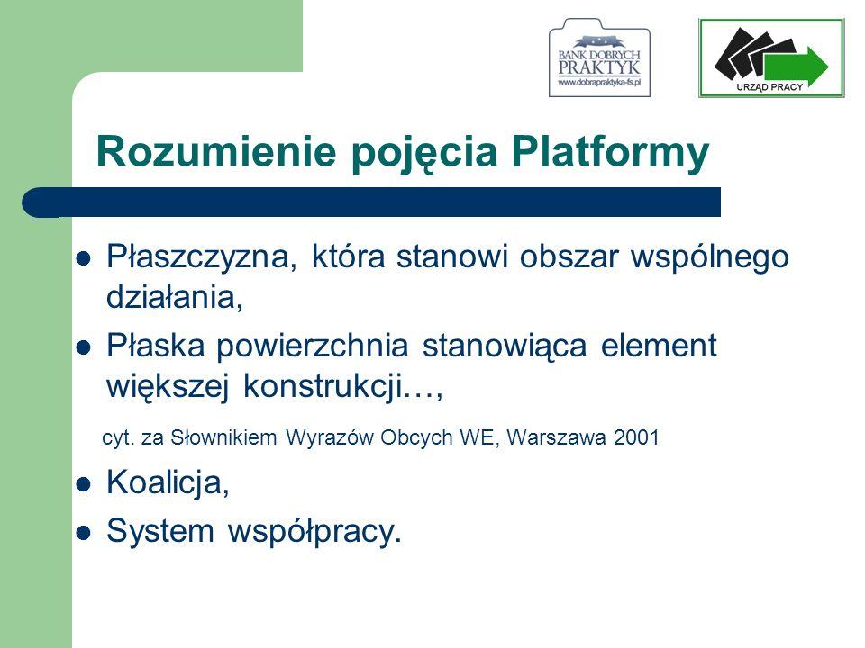 Przeprowadzone i planowane działania Rozpropagowanie działań i idei Platformy w mediach lokalnych.