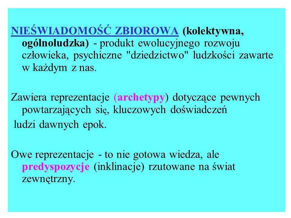 ARCHETYP (1) jest uniwersalną formą pojęciową (ideą ), zawierając \ą znaczny ładunek afektywny.