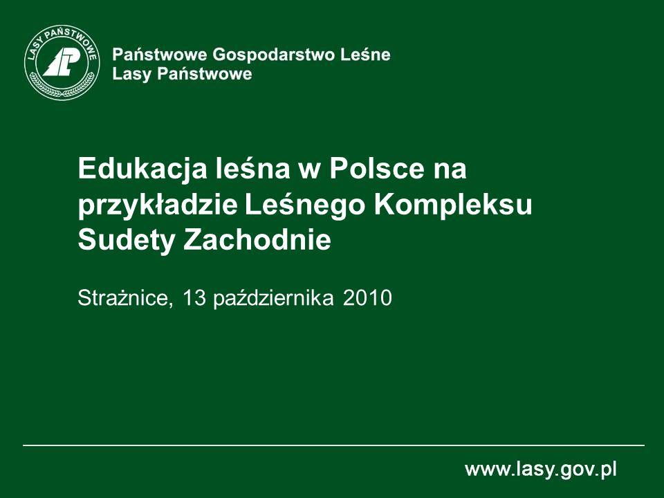 Edukacja leśna w Polsce na przykładzie Leśnego Kompleksu Sudety Zachodnie Strażnice, 13 października 2010