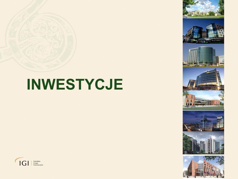 BUDYNKI BIUROWE Bliski Centrum Antares Cirrus Budynki klasy A i B usytuowane w prestiżowych dzielnicach Warszawy powierzchnia całkowita: 30 000 m kw.