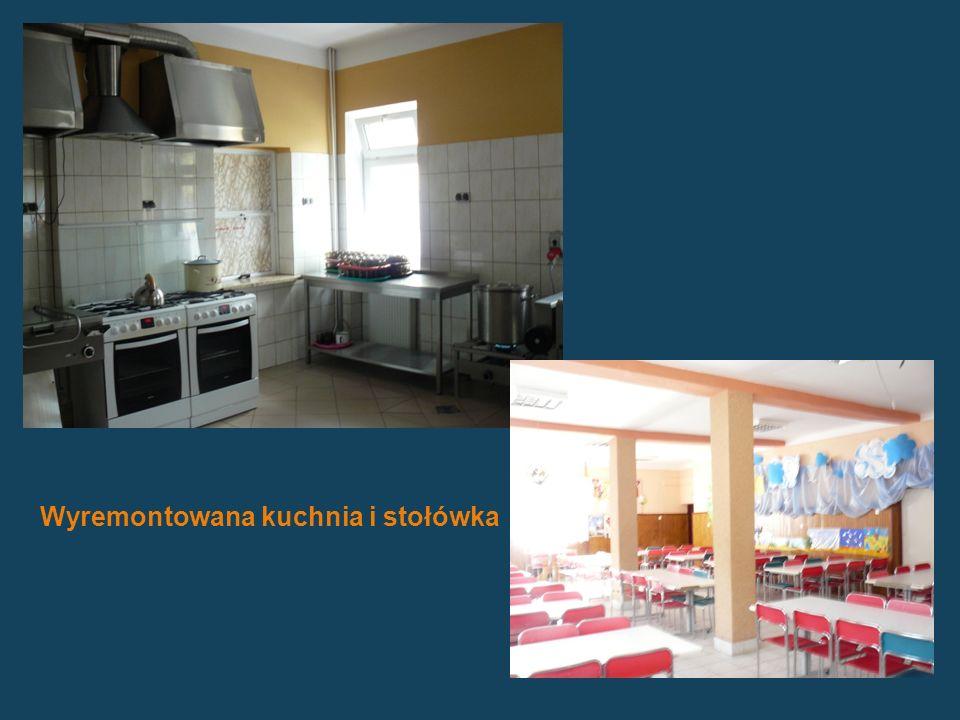 Wyremontowana kuchnia i stołówka