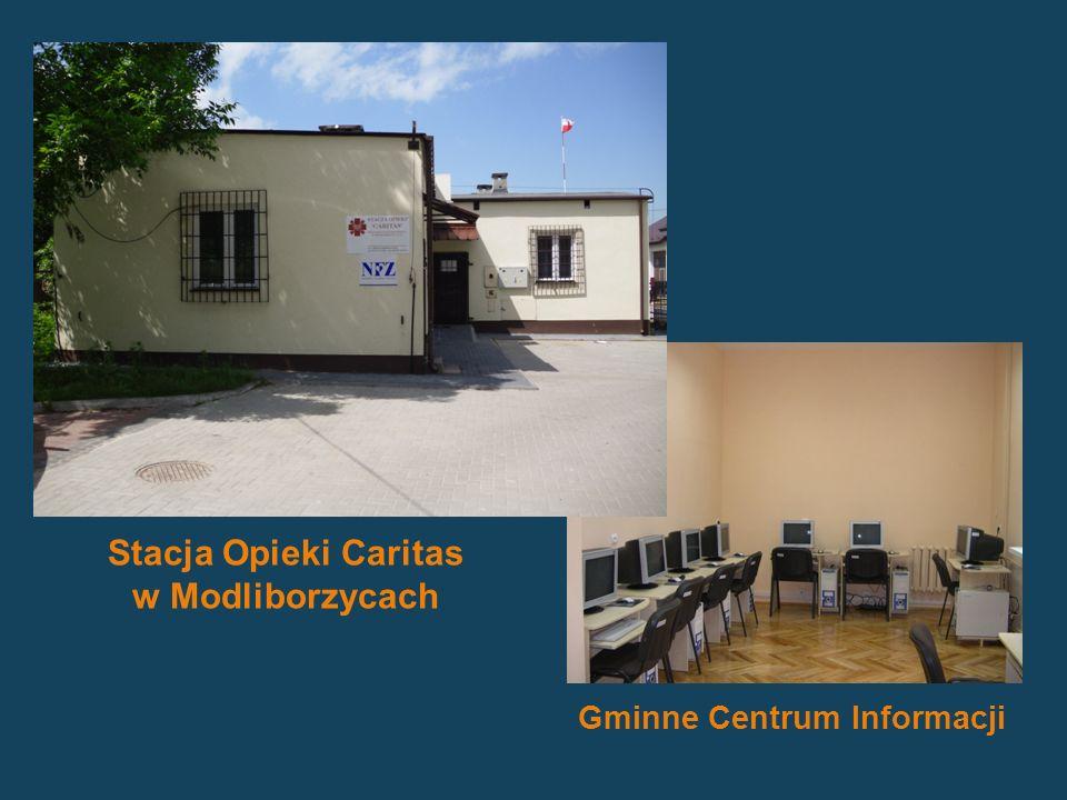 Stacja Opieki Caritas w Modliborzycach Gminne Centrum Informacji