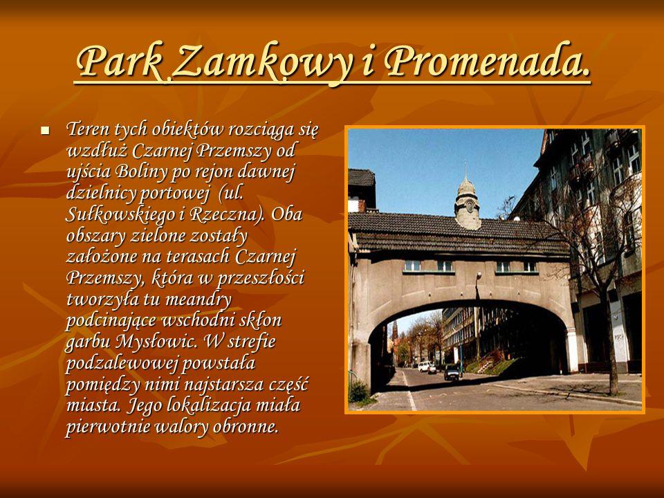 Park Zamkowy i Promenada.