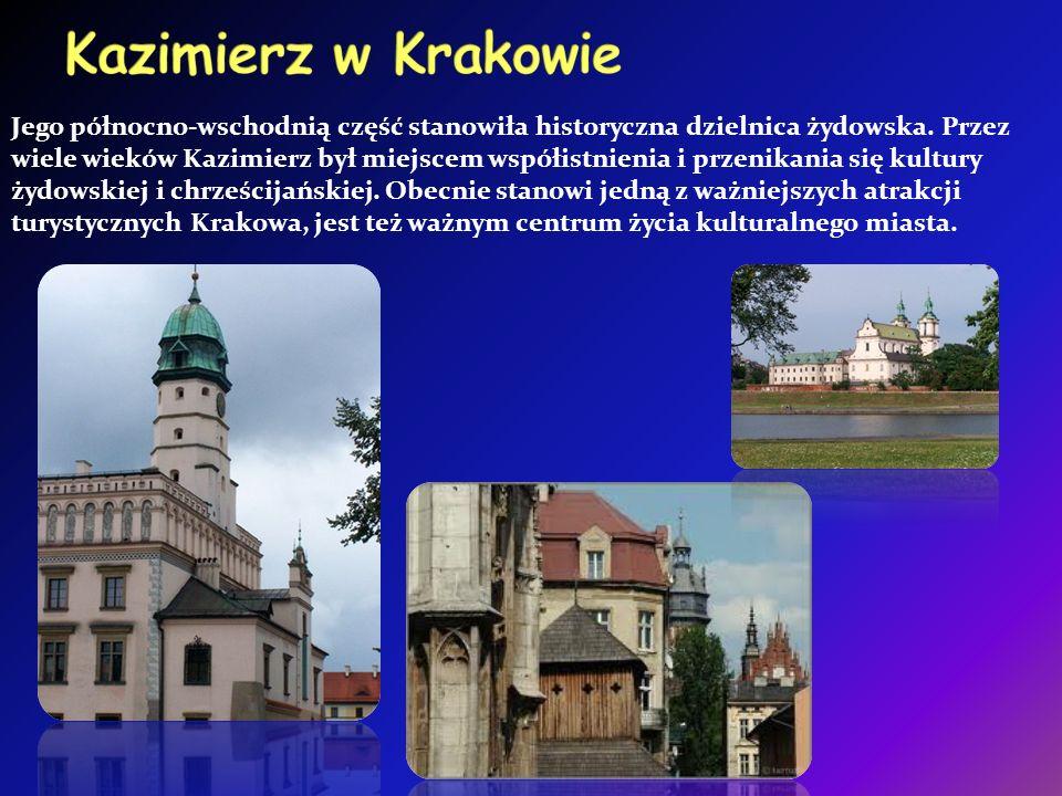 Jego północno-wschodnią część stanowiła historyczna dzielnica żydowska.