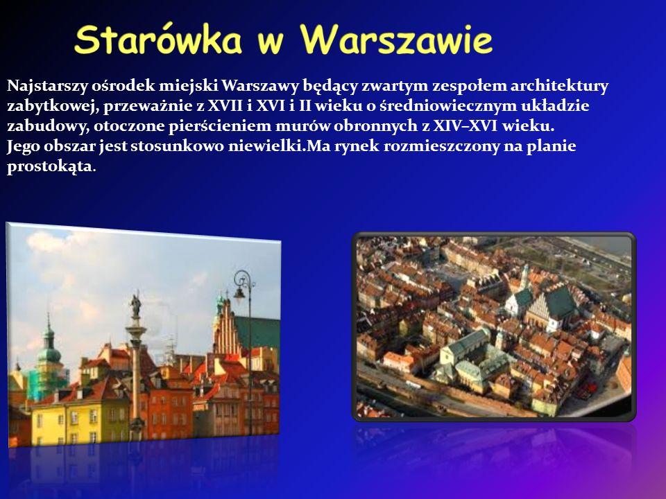 Najstarszy ośrodek miejski Warszawy będący zwartym zespołem architektury zabytkowej, przeważnie z XVII i XVI i II wieku o średniowiecznym układzie zabudowy, otoczone pierścieniem murów obronnych z XIV–XVI wieku.