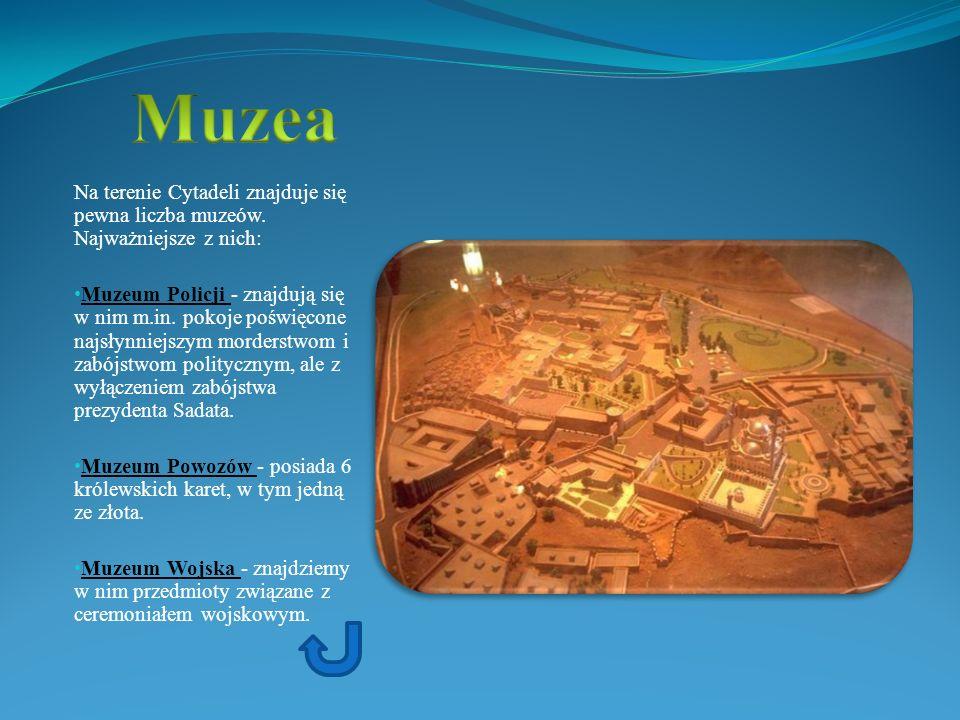 Na terenie Cytadeli znajduje się pewna liczba muzeów. Najważniejsze z nich: Muzeum Policji - znajdują się w nim m.in. pokoje poświęcone najsłynniejszy