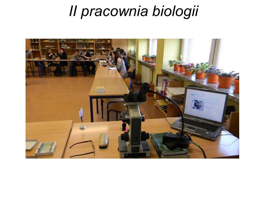 II pracownia biologii