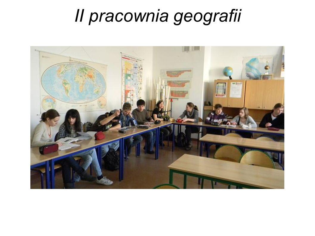 II pracownia geografii