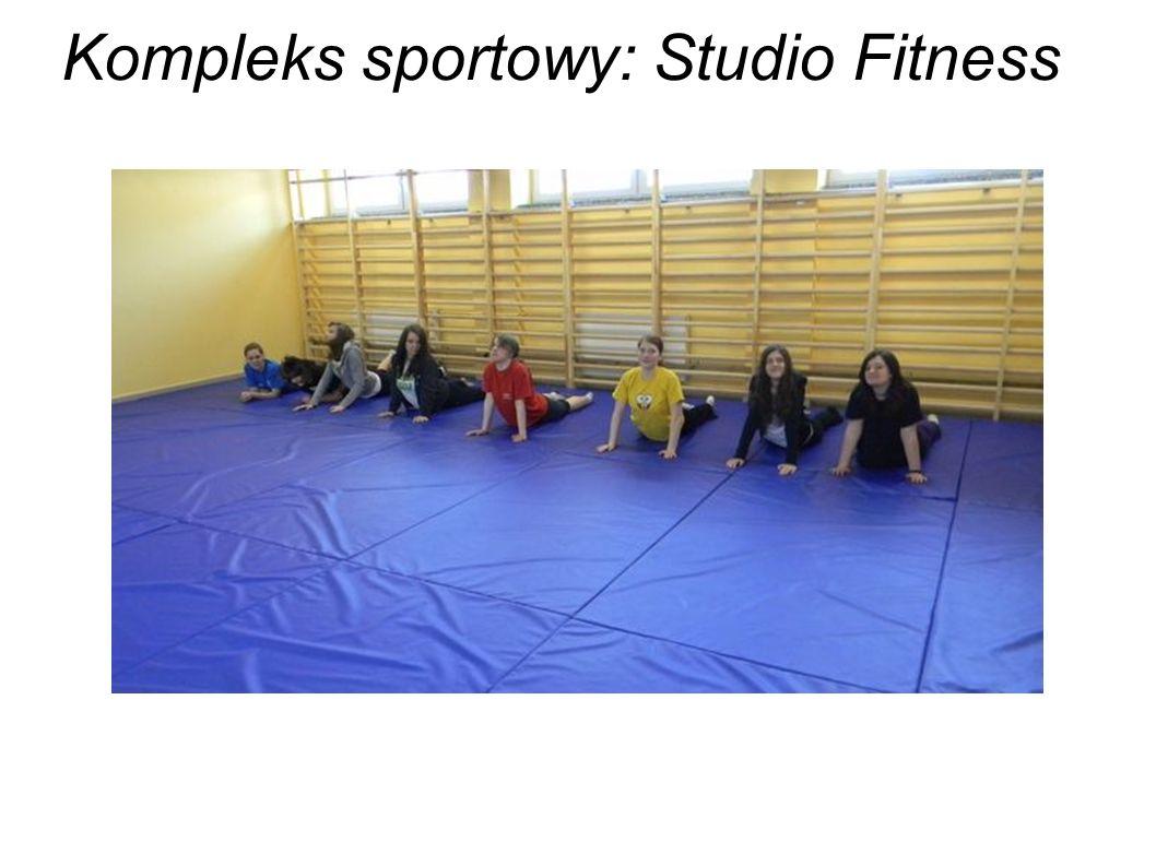 Kompleks sportowy: Studio Fitness