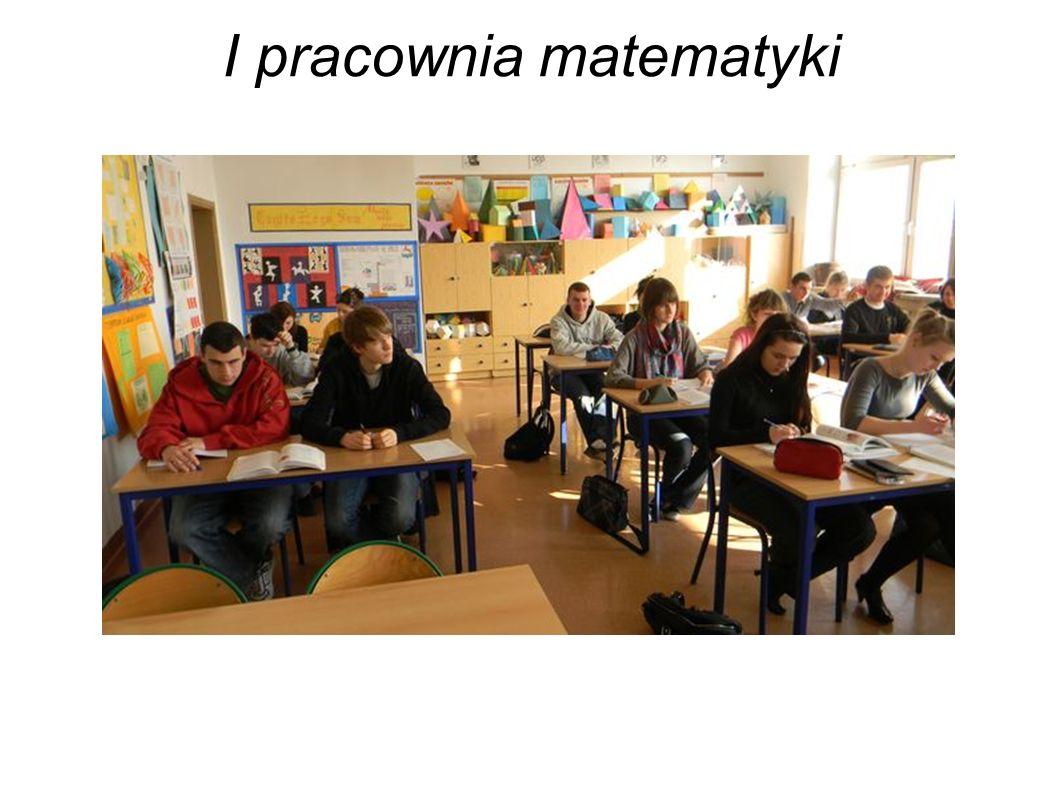I pracownia matematyki