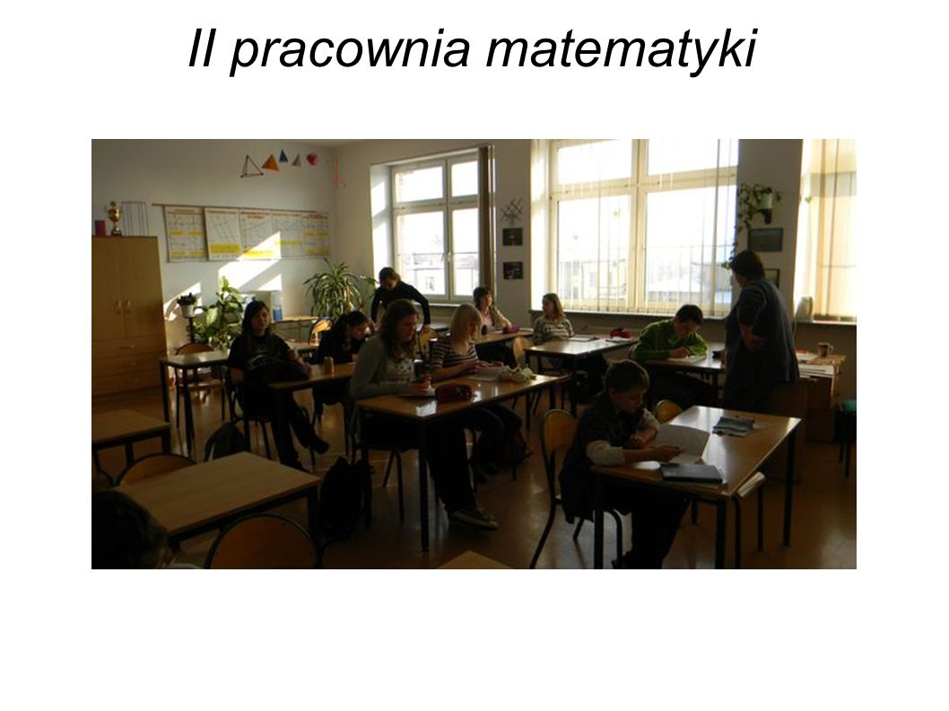 II pracownia matematyki