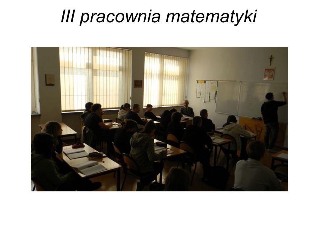 III pracownia matematyki