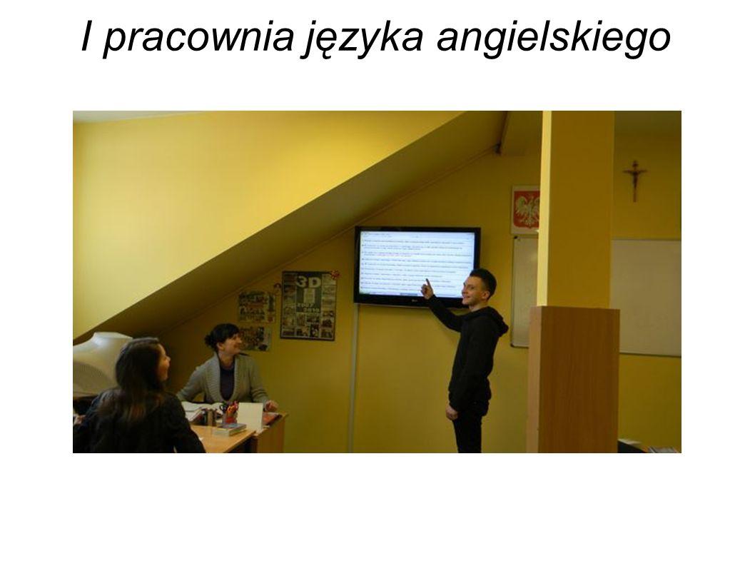 I pracownia języka angielskiego