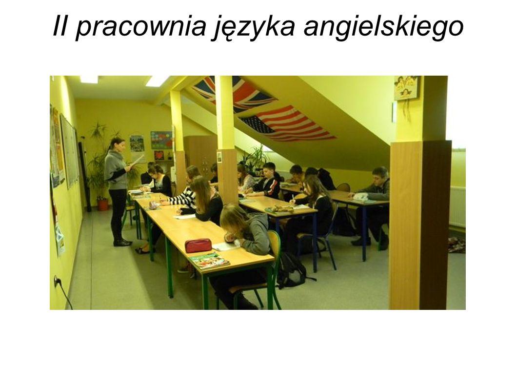 II pracownia języka angielskiego