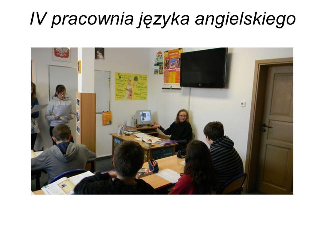 IV pracownia języka angielskiego