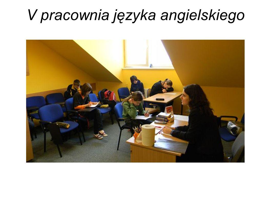 V pracownia języka angielskiego