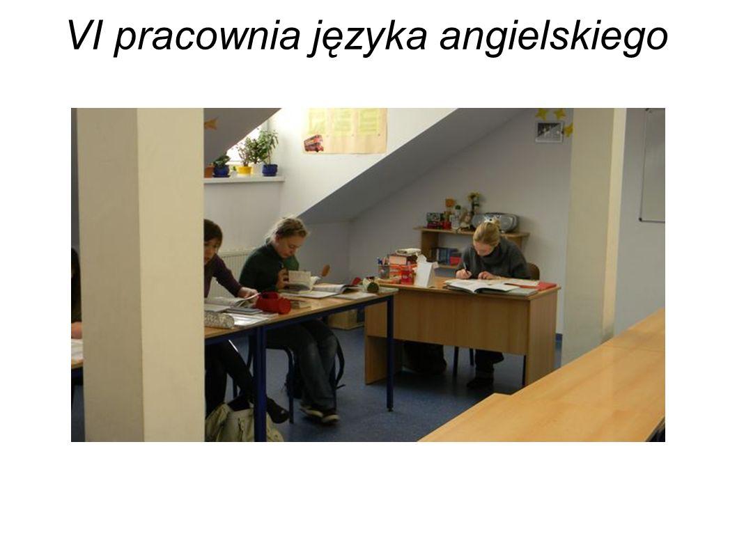 VI pracownia języka angielskiego