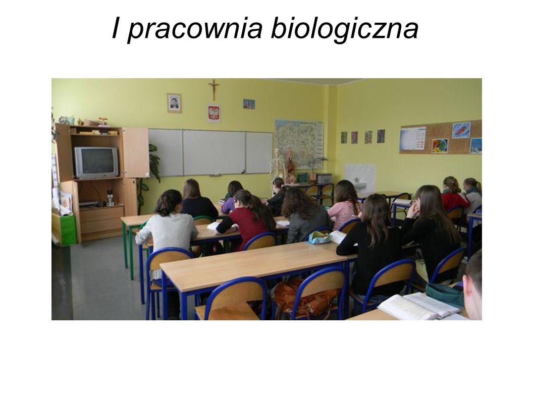 I pracownia biologiczna