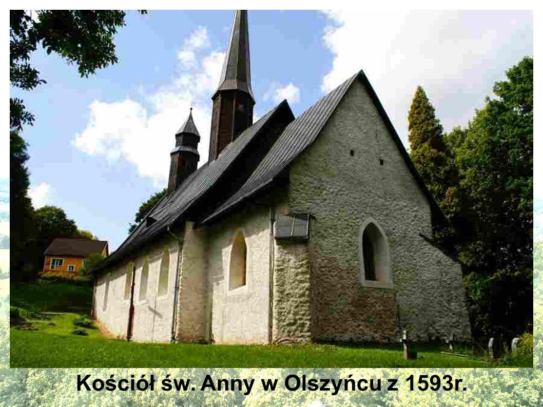 Kościół św. Anny w Olszyńcu z 1593r.