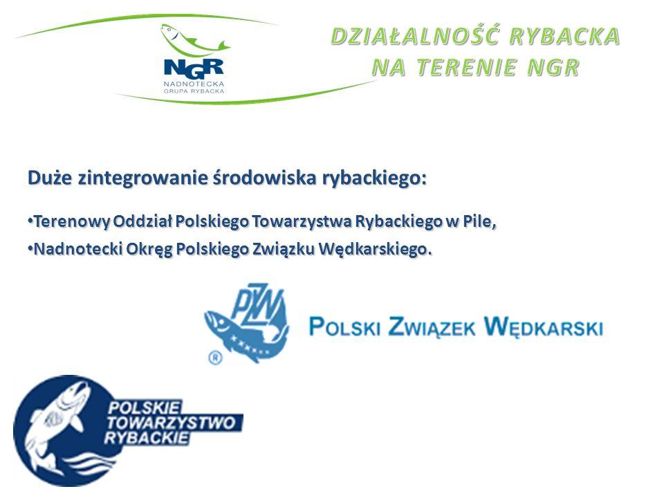 Duże zintegrowanie środowiska rybackiego: Terenowy Oddział Polskiego Towarzystwa Rybackiego w Pile, Terenowy Oddział Polskiego Towarzystwa Rybackiego