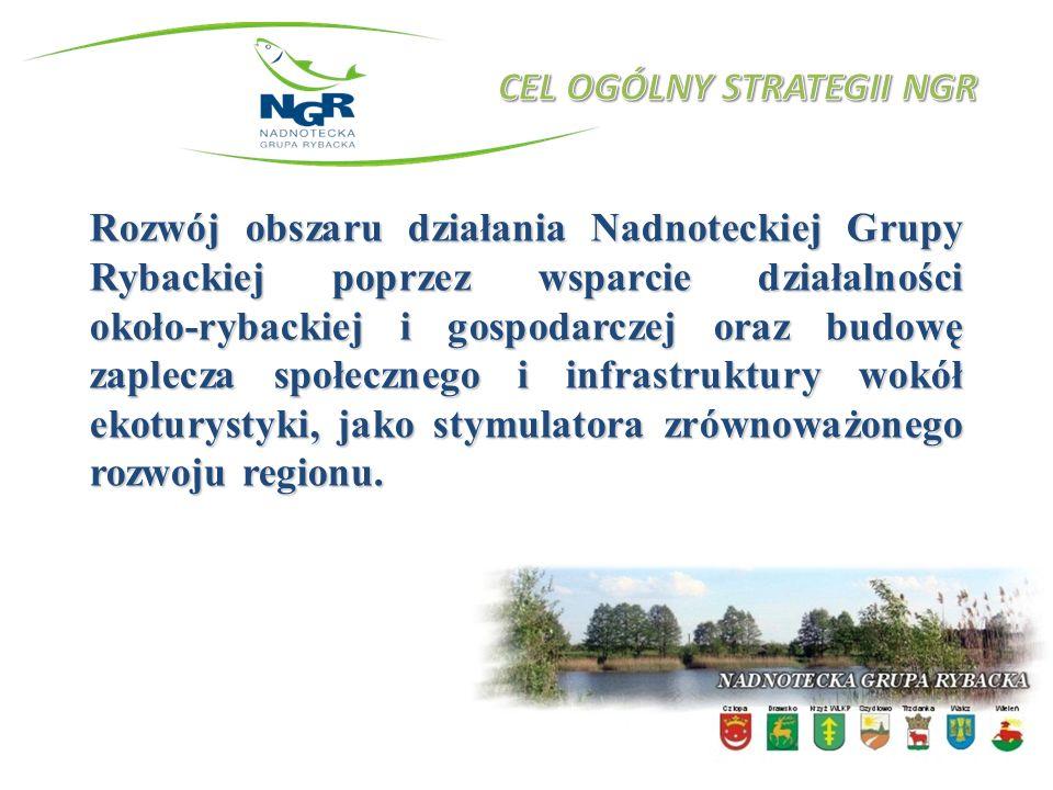Rozwój obszaru działania Nadnoteckiej Grupy Rybackiej poprzez wsparcie działalności około-rybackiej i gospodarczej oraz budowę zaplecza społecznego i