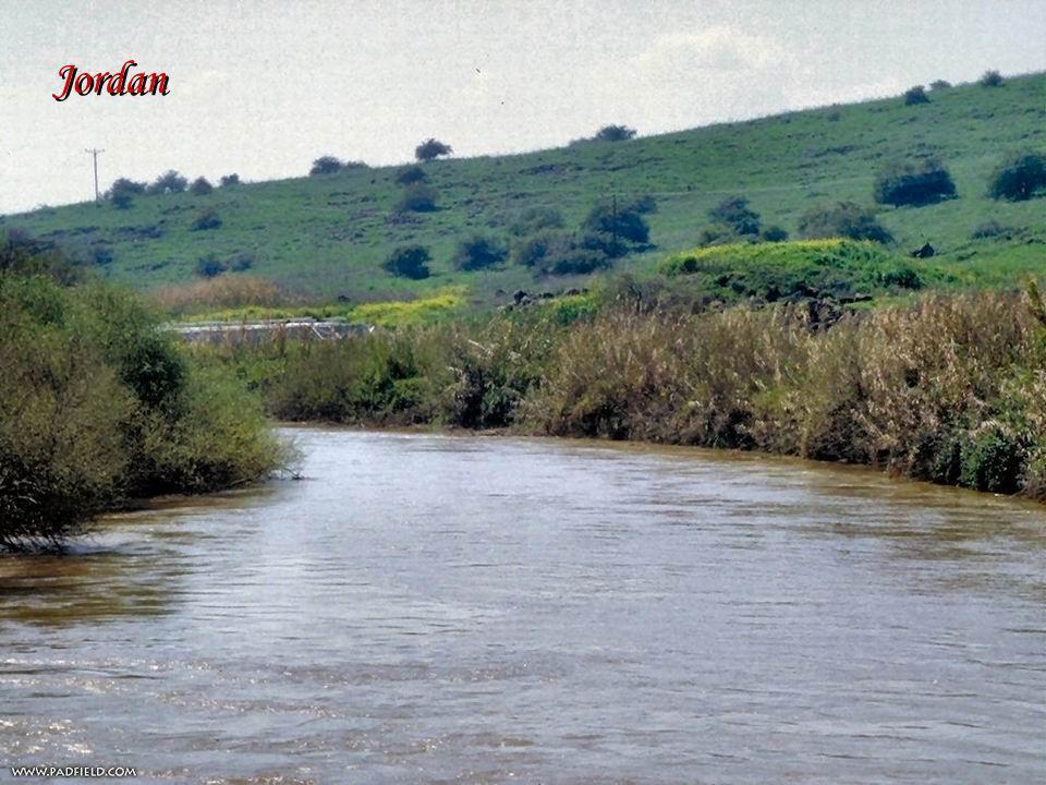 Jordan - Miejsce chrztu