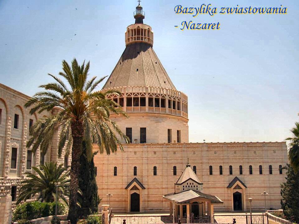 Nazaret - kościół archanioła Gabriela
