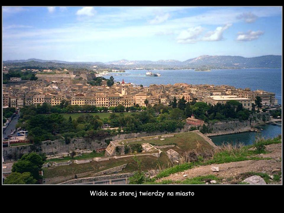 Miasto Korfu, stara twierdza z XVI wieku