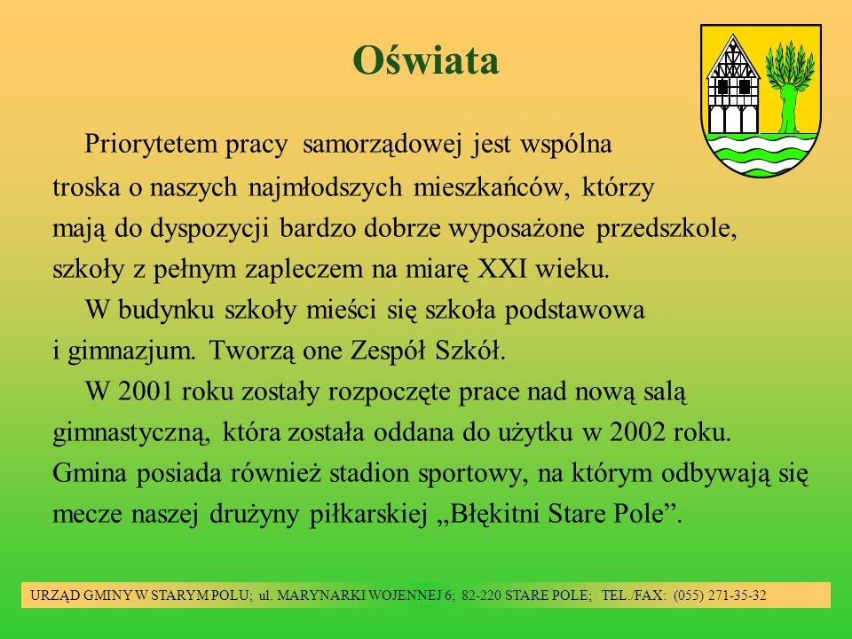 Oświata URZĄD GMINY W STARYM POLU; ul.