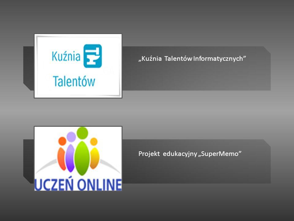 Projekt edukacyjny SuperMemo Kuźnia Talentów Informatycznych