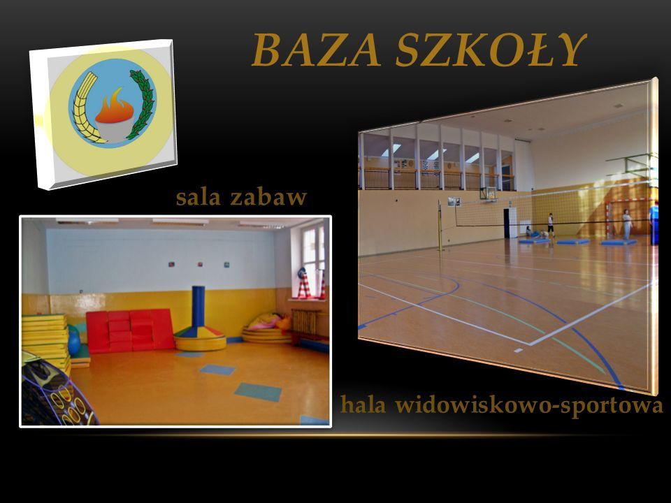 BAZA SZKOŁY sala zabaw hala widowiskowo-sportowa