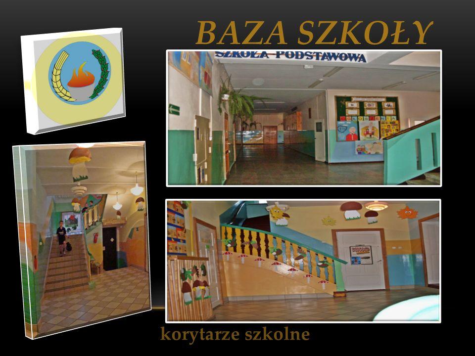 BAZA SZKOŁY korytarze szkolne