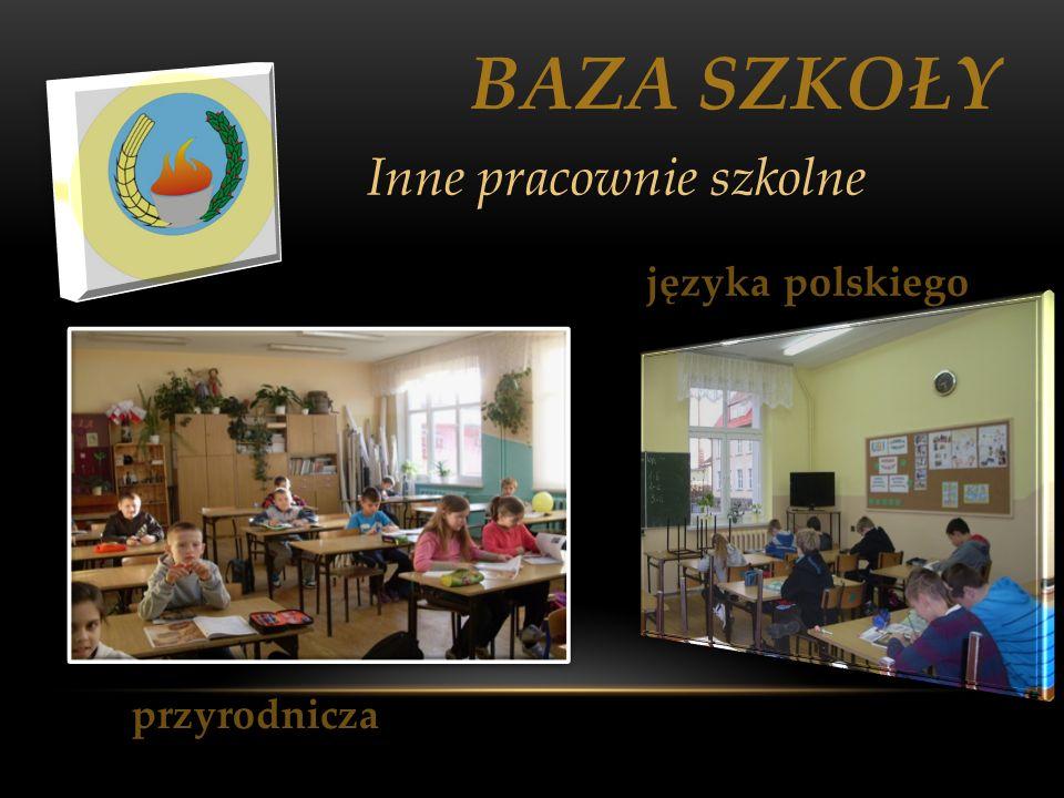 BAZA SZKOŁY przyrodnicza Inne pracownie szkolne języka polskiego