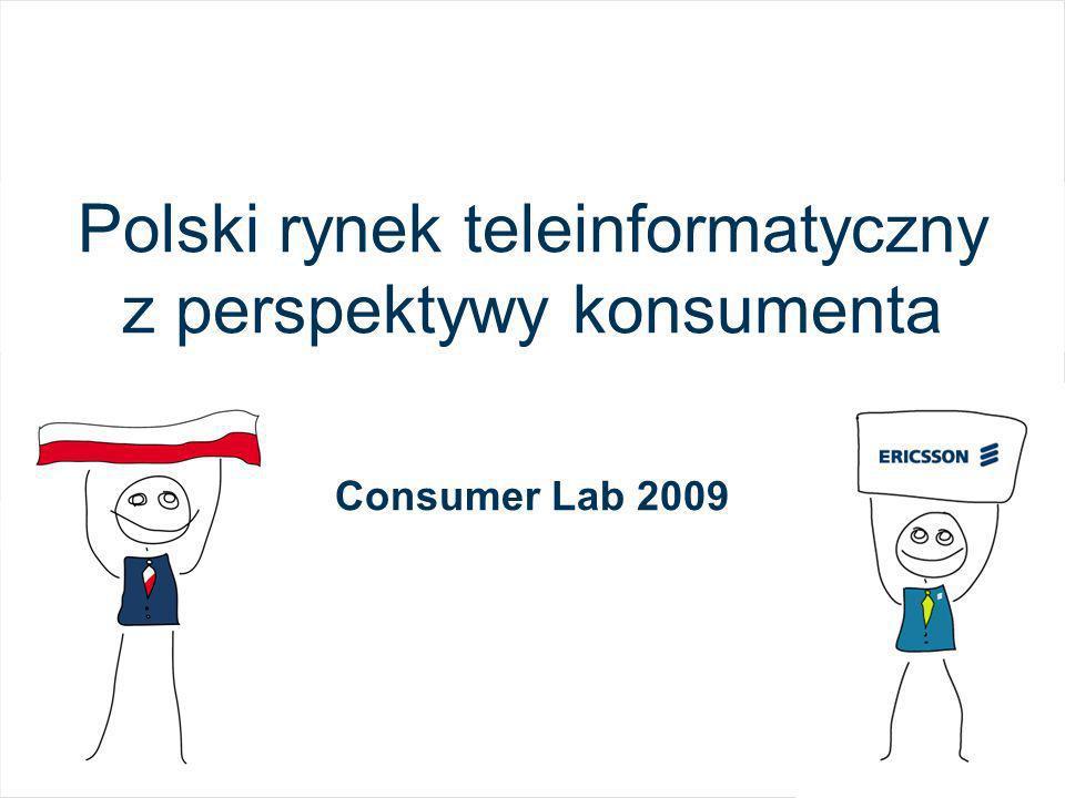 Polski rynek teleinformatyczny z perspektywy konsumenta Consumer Lab 2009