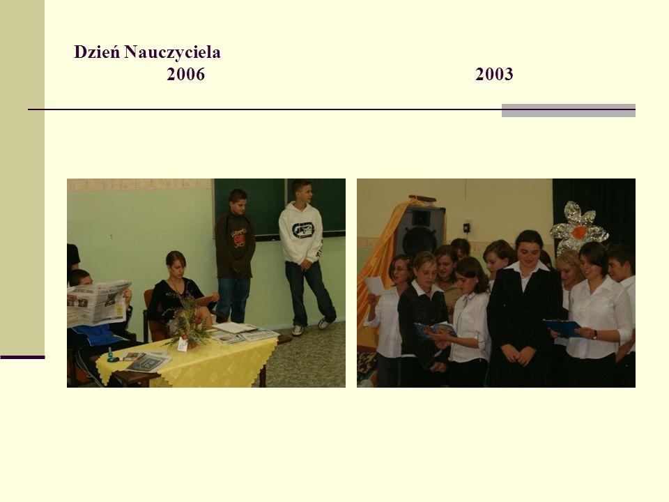 Dzień Nauczyciela 20062003