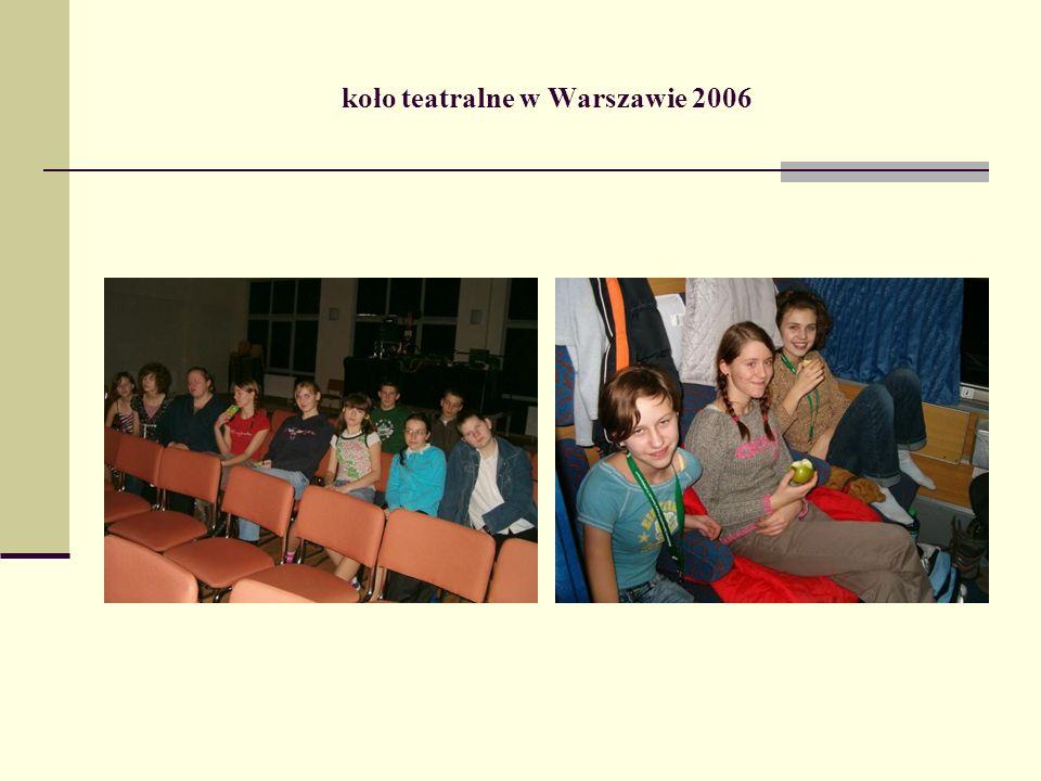 koło teatralne w Warszawie 2006