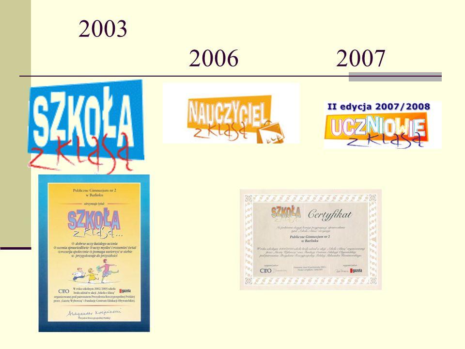 2003 2006 2007