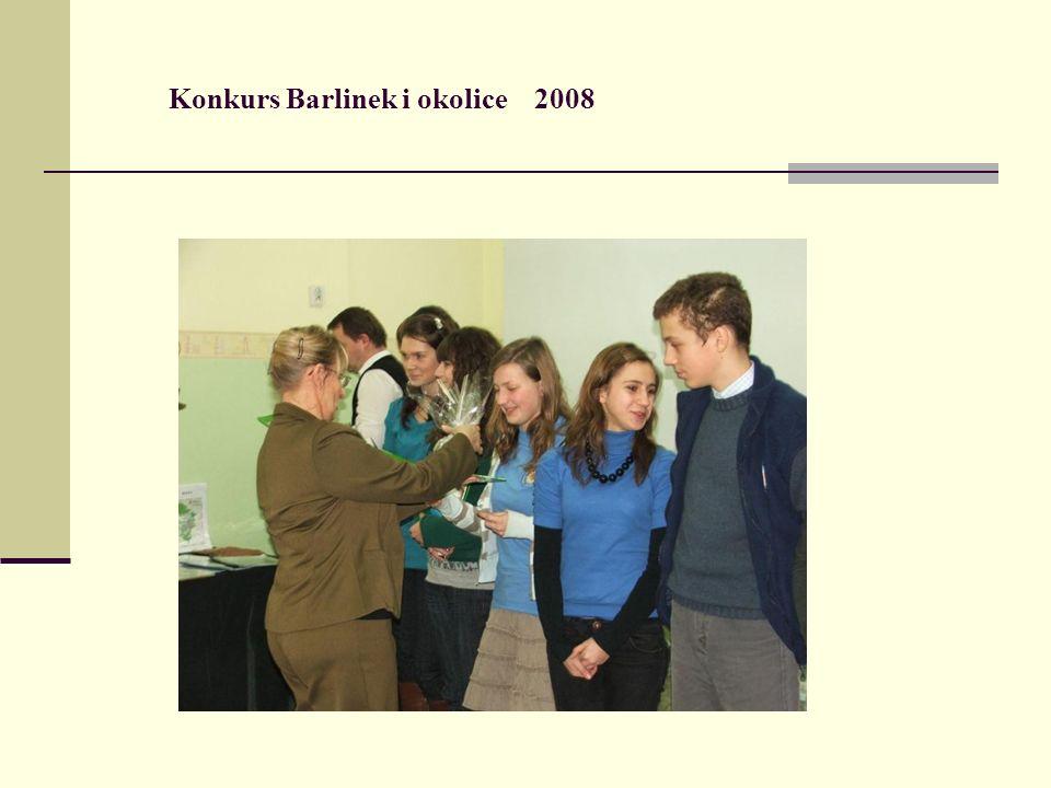 Konkurs Barlinek i okolice 2008