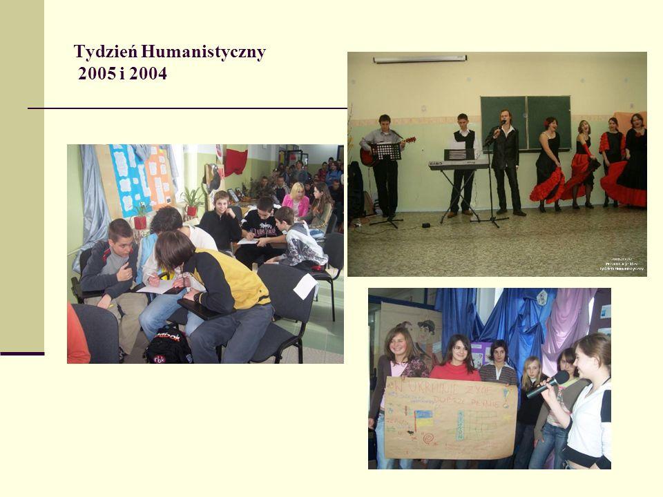 Tydzień Humanistyczny 2005 i 2004