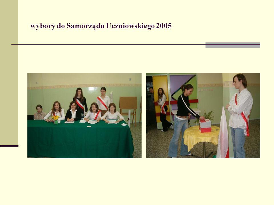 wybory do Samorządu Uczniowskiego 2005