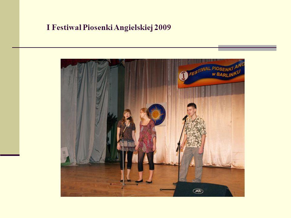 I Festiwal Piosenki Angielskiej 2009
