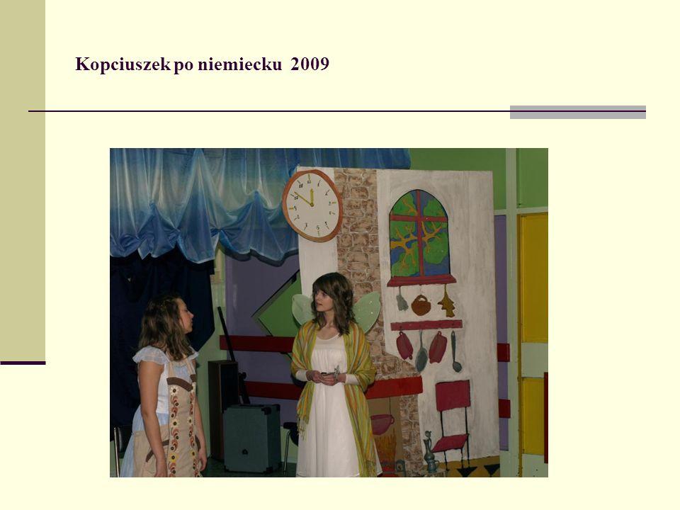 Kopciuszek po niemiecku 2009