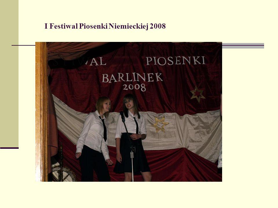 I Festiwal Piosenki Niemieckiej 2008