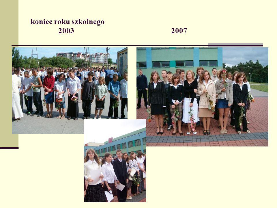 koniec roku szkolnego 2003 2007