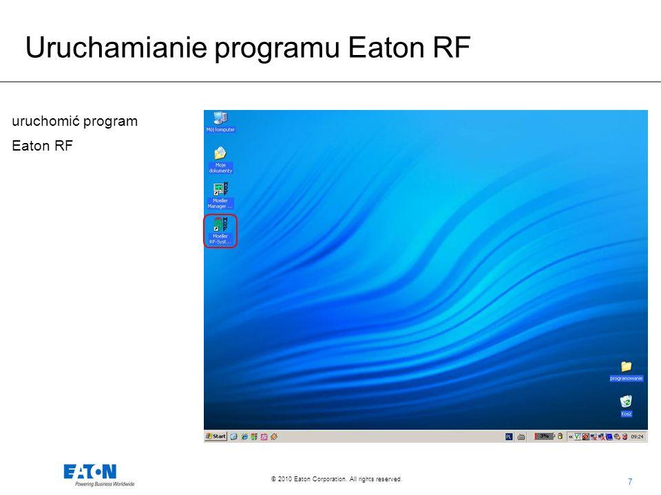 48 © 2010 Eaton Corporation. All rights reserved. WYSYŁANIE SMS-ÓW PRZEZ RM