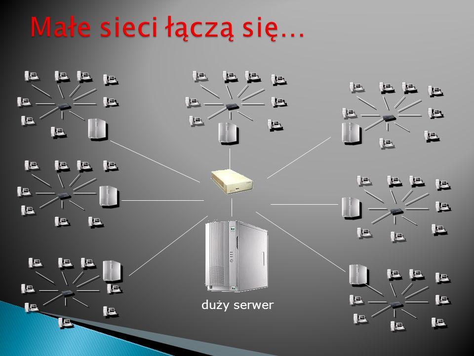 duży serwer