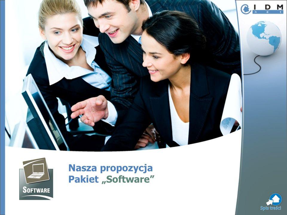 Nasza propozycja Pakiet Software